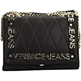 Versace Jeans Shoppers and Shoulder Bags for Women, Colour Black, Brand, Model Shoppe...