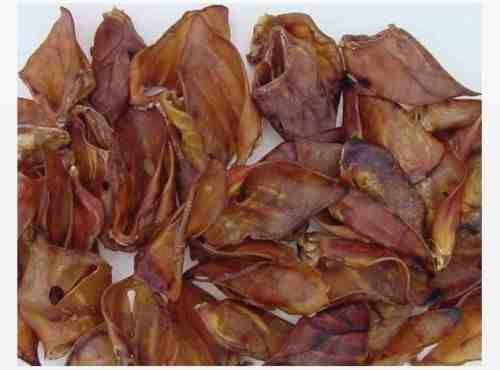 Quality Large Heavy British Grade A Pigs Ears x50 Test