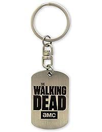 The Walking Dead Schlüsselanhänger Logo, silberfarben aus Metall