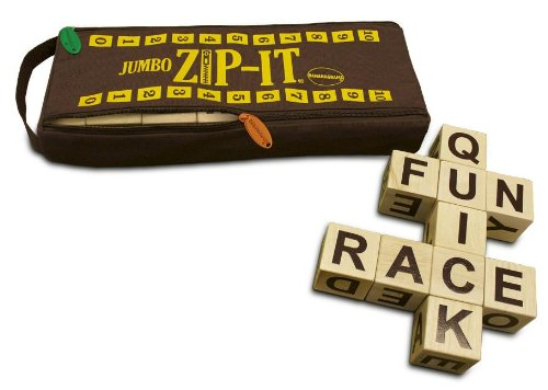 Jumbo Zip-It Word Board Game by - Round Word Spiel A