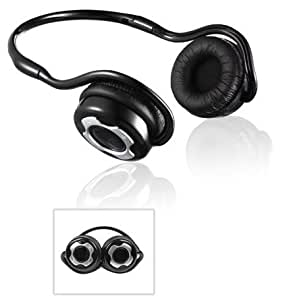 Blayztech BSH10 Bluetooth Stereo Headphones / Headset With Built-in Microphone , Bluetooth V2.1 A2DP , Noise Cancellation , Handsfree feature for mobile phones