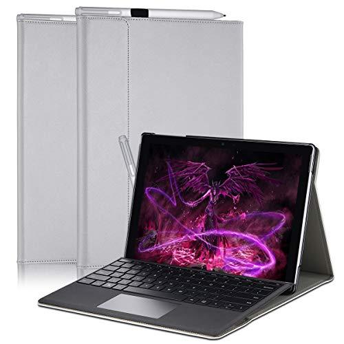 Vanctec Schutzhülle für Microsoft Surface Pro 4 Silver Grey -3 Case for Microsoft Surface go
