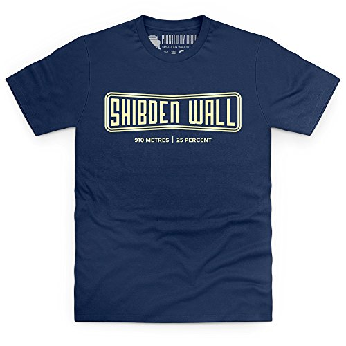 Cycling - Shibden Wall T-Shirt, Herren Dunkelblau