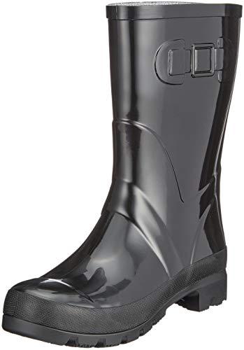 Beck Fashion, Botas de Agua para Mujer, Negro Schwarz 02, 39 EU
