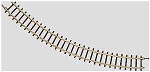 Märklin Curved Track - partes y accesorios de juguetes ferroviarios (Rastrear, Märklin, Amarillo)