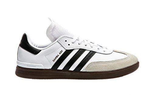 finest selection b05db 32eac 9. adidas Herren Samba ADV Skaterschuhe, Weiß (FtwblaNegbasGum5), 42 EU