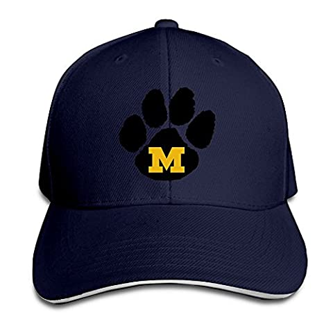 Huseki Hotgirl4 Adult University Of Missouri Tigers M Logo Adjustable Baseball Hat Ash Navy