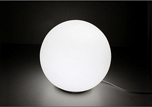 GBT Kreative Nette Kugelförmige Lampe Warm Weiß Dimmbare Lampe Nachttischlampe Einfaches Schlafzimmer (Led-Leuchten, Warmes Licht, Weißes Licht, Kronleuchter, Innenbeleuchtung, Außenleuchten, (Kostüme Nette Kreative)