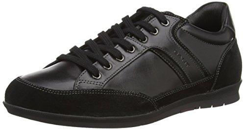 GANT Barrow, Low-Top Sneaker uomo, Nero (Schwarz (black  G00)), 44