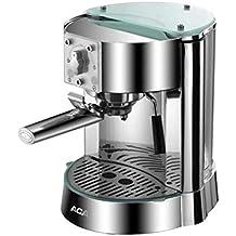 QWE Coffee Pot Pump Pump Presión Máquina de Café Italiana Máquina de Café Espresso Semiautomática Máquina