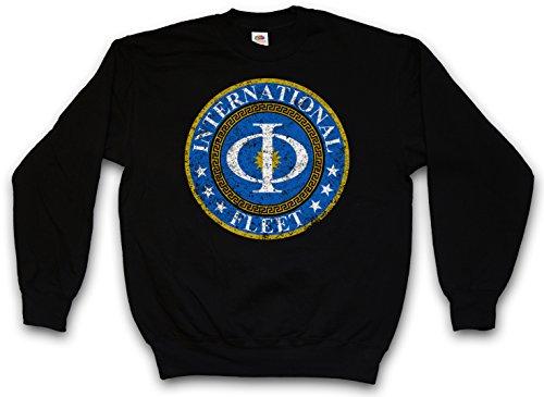 Vintage International Fleet Logo Sweatshirt Sweater Pullover - Ender´s Orson Scott Card Game T-Shirt Sizes S - 3XL