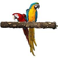 Plifet Gati-Way - Perchas para pájaros, Ramas de Pimienta Natural, Superficie Rugosa, Jaula para pájaros