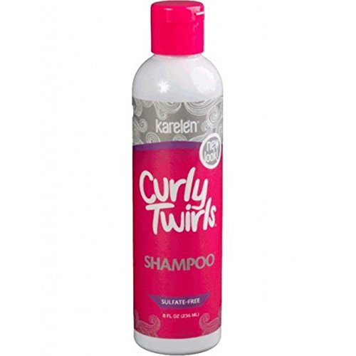 Curly Twirls Sulfate-free Shampoo for Curly Hair 8 Oz. Bottle by Curly Twirls