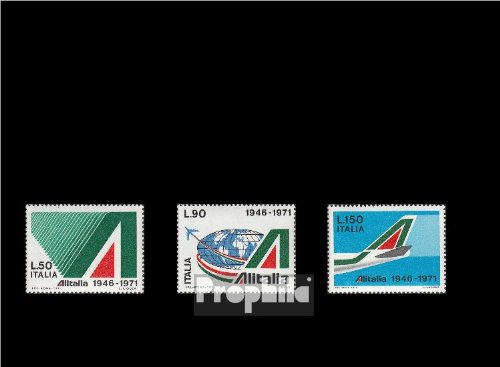timbres-pour-collectionneurs-italie-1343-1345-completeedition-neuf-avec-gomme-originale-1971-aerienn