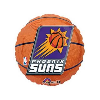 Anagram International A11373401 Phoenix Suns Packed Balloon, 18