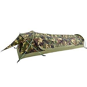 Bivvy Biwaksäcke Trekkingzelt Campingzelt Zelt Minipack Ultraleichtes Wasserdichtes – 230 x 75 x 60 H cm (1.25 kg…