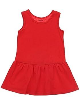 Mädchen Kleid, Union Mädchen Rundhals Kleid
