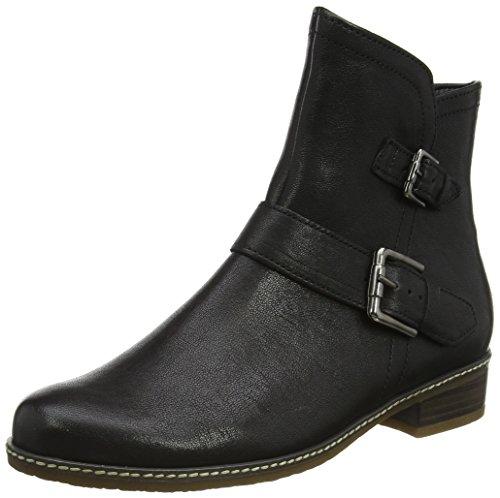 Gabor Shoes Damen Comfort Sport Stiefel, Schwarz (67 Schwarz (Micro)), 39 EU