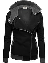 DJT blouson Veste Manteau chaud jacket zip slim mode automne hiver