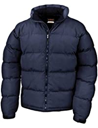 Result Mens Holkham Down Feel Puffer Puffa Coat Jacket