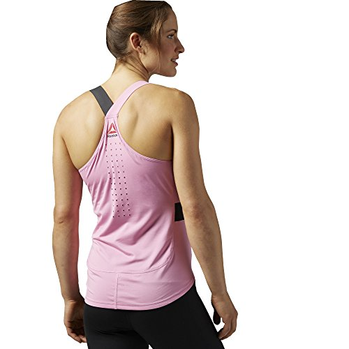 Reebok Débardeur One Series Speed Wick Long Bra Rose - Icono Pink