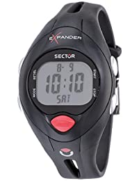 Sector Sports Watch R3251173015 In Collection Cardio With Grey Dial and Strap+Pack+Heart