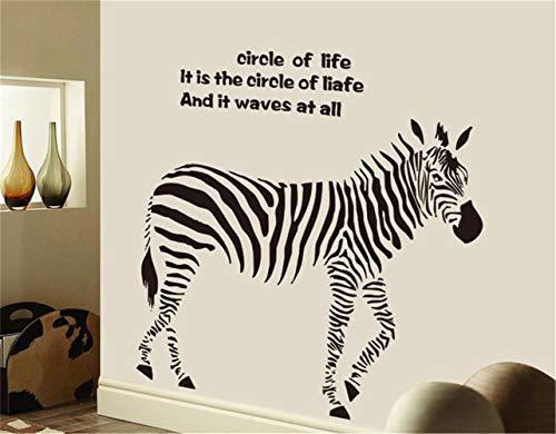 wandaufkleber 3d küche Hausgarten-Wand-Dekor Home Decor Zebra Großhandel (Zebra-wand-dekor Und Türkis)