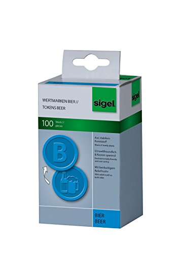 sigel-wm005-tokens-beer-diameter-25-cm-blue-100-pieces