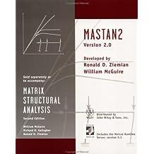 Matrix Structural Analysis, Matstan 2 Version 2.0