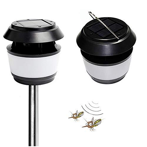 Gutreise mückenschutz Ultraschall insektenabweisend Tragbares Solar Powered Street leicht,...