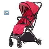 Herxy Buggys Leichter Kinderwagen Buggy für Kleinkinder - Praktischer Kinderwagenschirm - Liegefunktion - Sonnendach - Flugzeugreise - Von der Geburt bis 30 kg