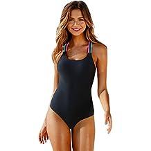 Conjunto para Mujer,Longra Bañadores Bikinis/Push-Up Padded Bra Bikini/Traje