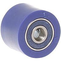 RFX FXCR 10032 55BU - Rodillo de cadena universal (superior e inferior, 32 mm), color azul