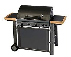 Idea Regalo - Campingaz Adelaide 4 Classic Deluxe Extra Barbecue a Gas, Nero
