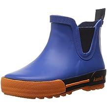 Kamik Unisex-Kinder Rainplaylo Gummistiefel, Blau (Blue-Bleu Blu), 32 EU