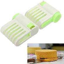 Niveladores portátiles para cortar tartas, 5 capas, color al azar