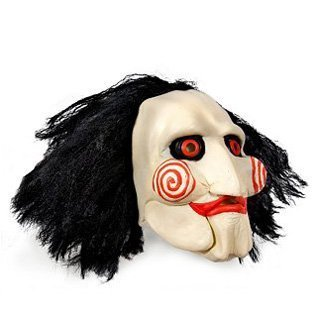 Original Saw Puppet - Horrormaske (Saw Puppe Kostüme)