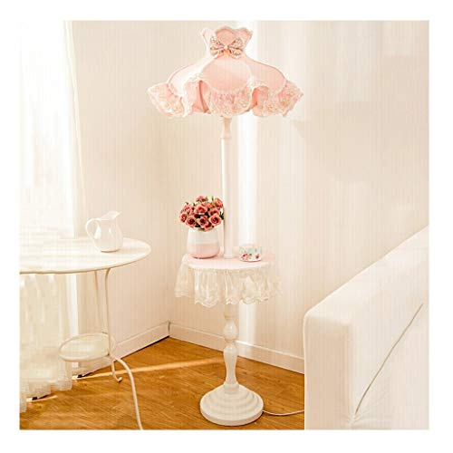 &Tageslicht Stehleuchte Stehlampe Vertikale LED Hohe Wohnzimmer Regal Schlafzimmer Mädchen Kinderzimmer Nachttischlampe Rosa (Ausgabe : Remote Control dimming)