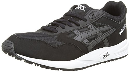 ASICS Gelsaga, Chaussures Multisport Outdoor Mixte adulte Noir (Black/Gold 9094)