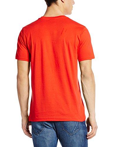 PUMA Herren T-shirt AFC Fan Tee-Crest Q3 high risk red