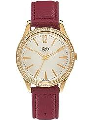 Henry de Londres Unisex Reloj de pulsera Holborn–Analógico de Cuarzo Piel hl39de SS de 0068