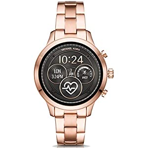 Michael Kors Womens Smartwatch with Stainless Steel Strap MKT5046
