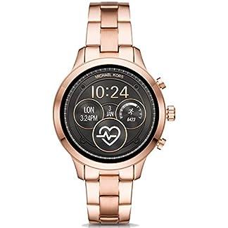 Michael-Kors-Damen-Digital-Smart-Watch-Armbanduhr-mit-Edelstahl-Armband-MKT5046