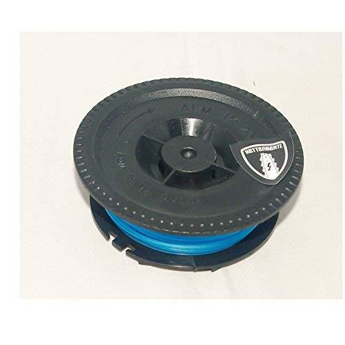 Bobine Bobine pour coupe-bordure Compatible avec IKRA mogatec Tondeuse électrique rt4004 VA/2 Swing Line débroussailleuses