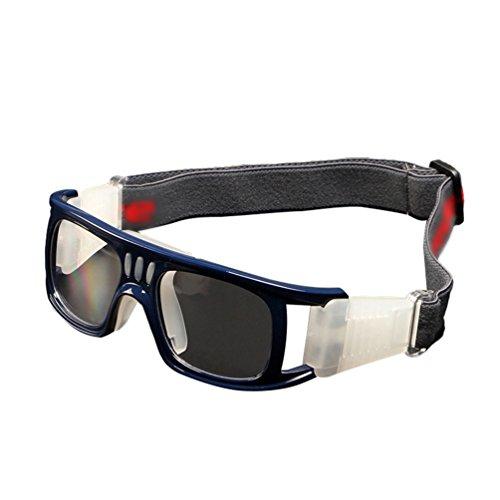 Dexinx Unisex Professionelle Motocross Roller Fahrrad Aviator Brille Anti-Uv Stoßfest Mountainbike Brille für Erwachsene Saphirblau