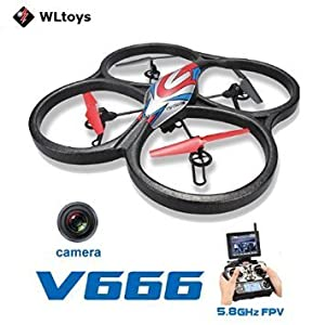 NCC® WL Toys V666 Hubsan XXL Quadcopter with HD Camera FPV from NCC®WL-TOYS