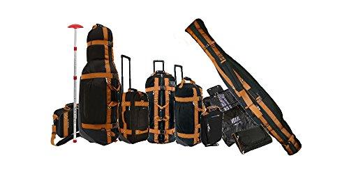Club gants de 11 pièces de golfeur reisegepäckset pour les skieurs et vielreisende-(valises/414135 trolleyset coque//// modèle sacs de voyage/valise/valise à roulettes)
