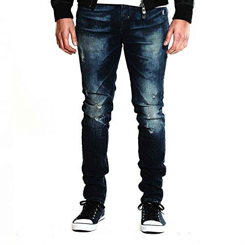 883 POLICE Brade 283 Slim Stretch Jeans Blue