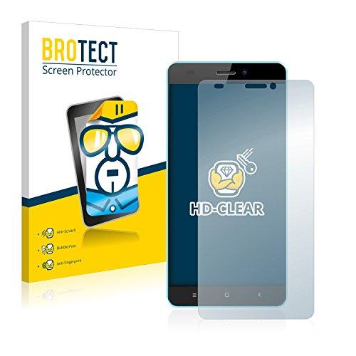 BROTECT Schutzfolie kompatibel mit Oukitel C3 [2er Pack] klare Bildschirmschutz-Folie