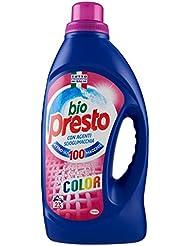 Bio Presto Detersivo Color, Agenti Scioglimacchia - 1495 ml